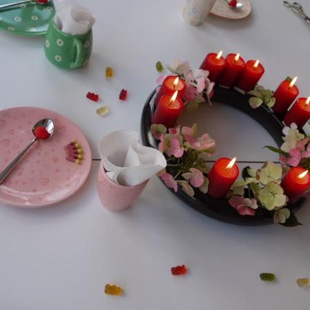 Wenn in Bremen Kindergeburtstag gefeiert wird, muss der Tisch natürlich auch schön gedeckt sein.