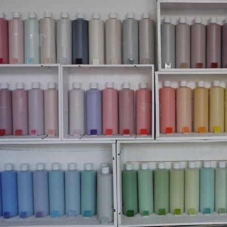 Die im Keramikatelier für das Keramik Bemalen verwendeten Glasuren sind absolut ungiftig.